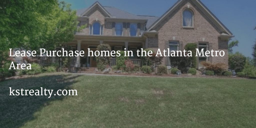 Lease Purchase Homes in the Atlanta metro area