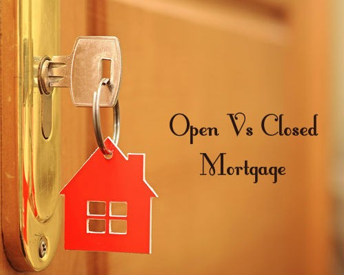 What's the difference between a closed and open term mortgage