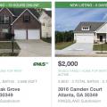 Alquiler de casas en Atlanta
