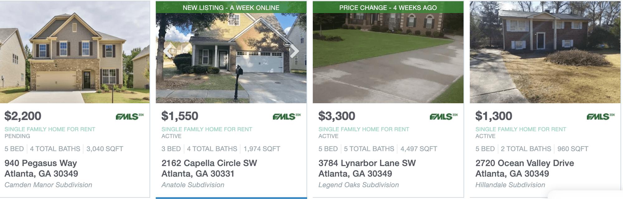 Miraculous Atlanta Homes For Rent Top Real Estate Agents In Atlanta Interior Design Ideas Jittwwsoteloinfo
