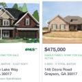 Casas Nuevas en Grayson