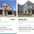 Casas Nuevas en Peachtree Corners