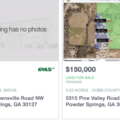 Powder Springs Land, farms and Lots for sale