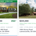 Homes with swimming pools for sale in Lawrenceville