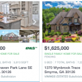 Homes with swimming pools for sale in Smyrna