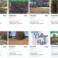 Lotes y terrenos de venta en College Park